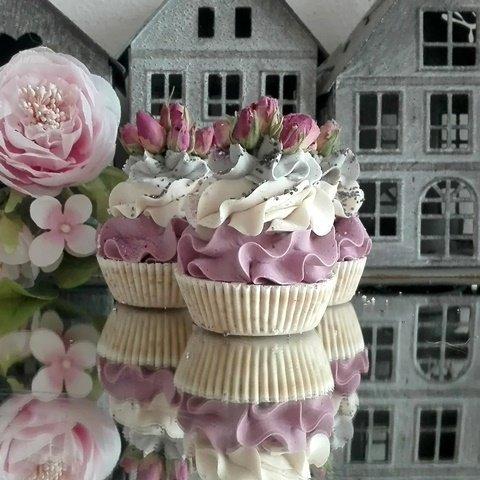 Cupcake soap Shabby CR