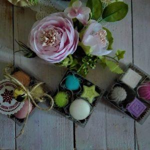 Cioccolatini e mini macarons