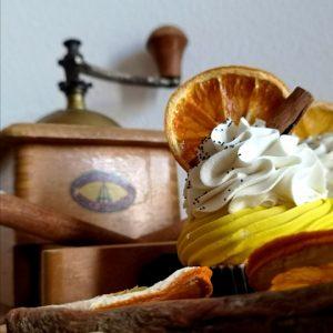 Cupcake soap Cannella Arancio
